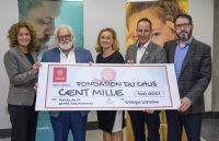 Un don substentiel pour la Fondation du CHUS