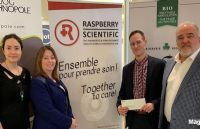 Magog accorde une subvention de 10 000 $ Raspberry Scientific inc.